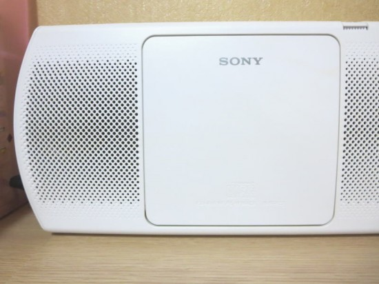 SONY CDラジオ
