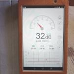 騒音測定器(Sound Meter)のアプリ