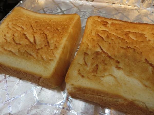 乃が美の「生」食パンをトースト