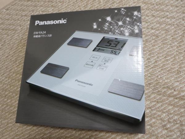 体組成バランス計(Panasonic-EW-FA24)