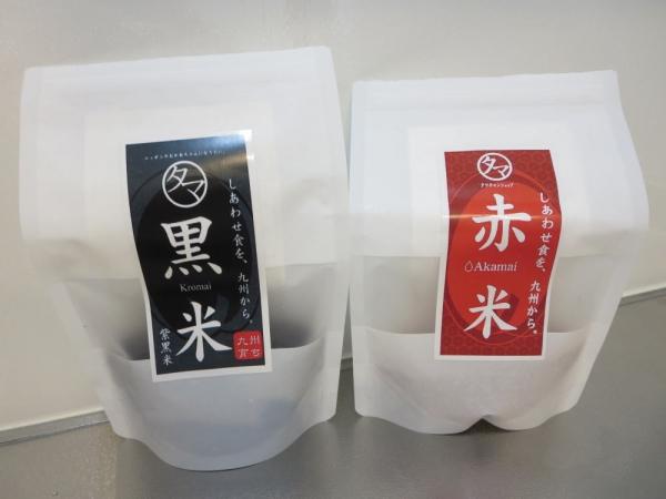黒米と赤米