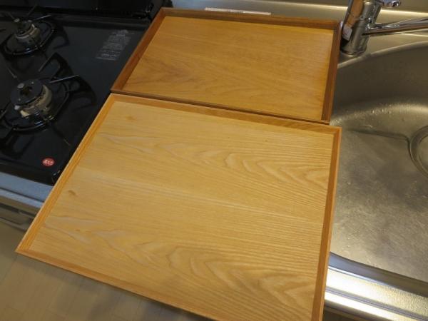 KEYUCA(ケユカ)とテーブルウェアイーストの木製トレイを比較