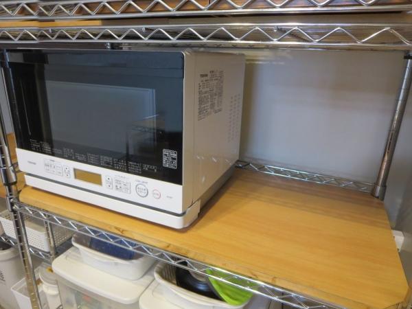 オーブントースターを置くスペース