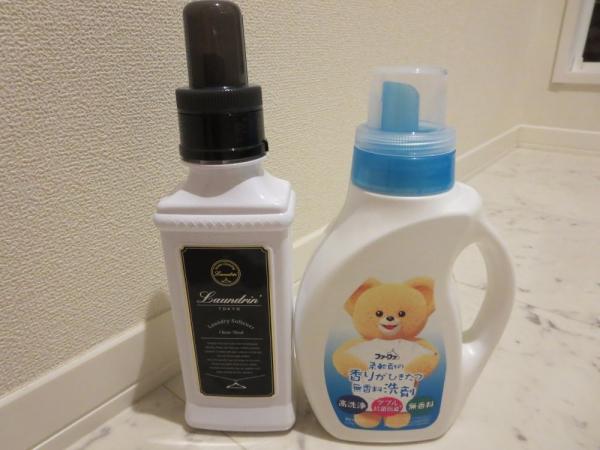 ファーファ柔軟剤の香りがひきたつ無香料洗剤とランドリン柔軟剤