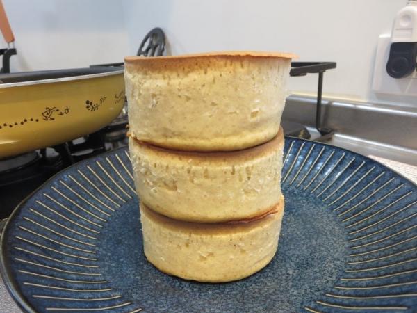 厚焼きパンケーキ(全粒粉パンケーキMIX)